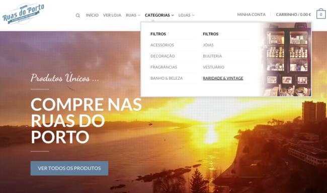 ruasdoporto.com loja online