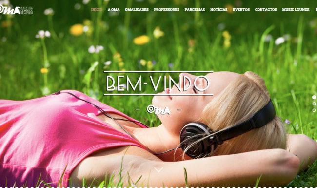 oficinademusicadeaveiro.com website parallax de alta velocidade